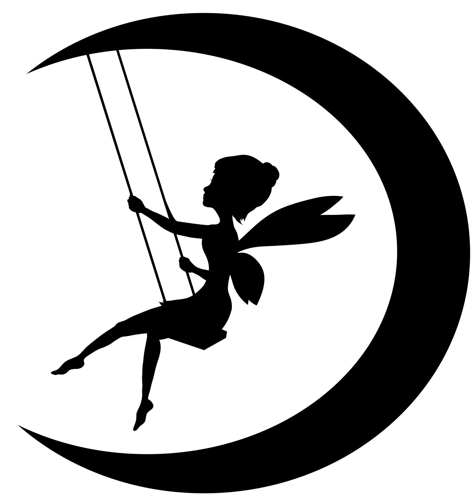 Fairy clipart moon. Viewing gallery for on