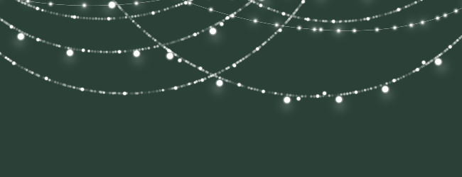 Fairy lights png. Sparkling string invitations in