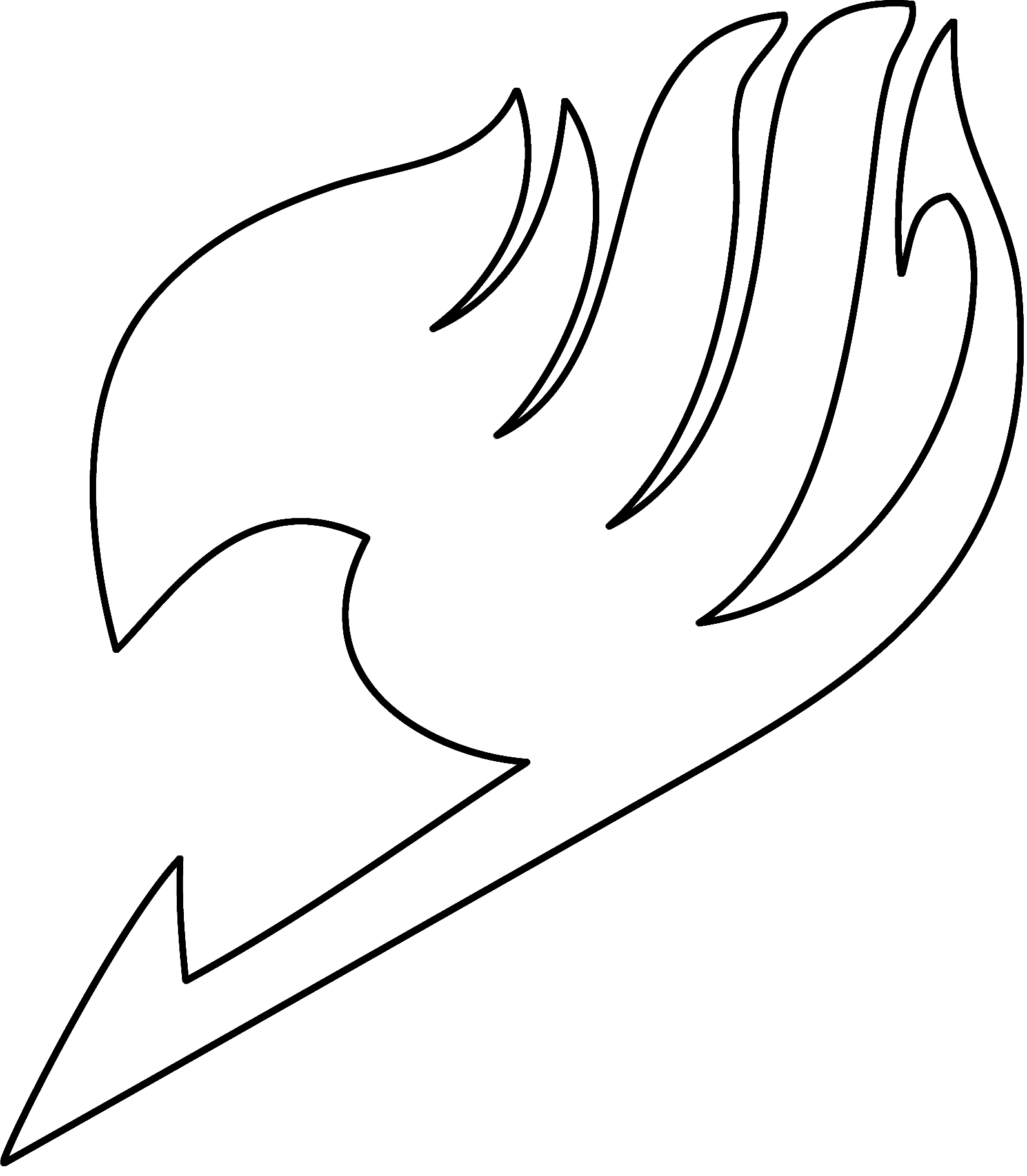 Fairytail drawing symbol. Image edolas fairy tail
