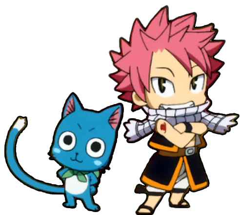 Fairy tail png. Image natsu and happy
