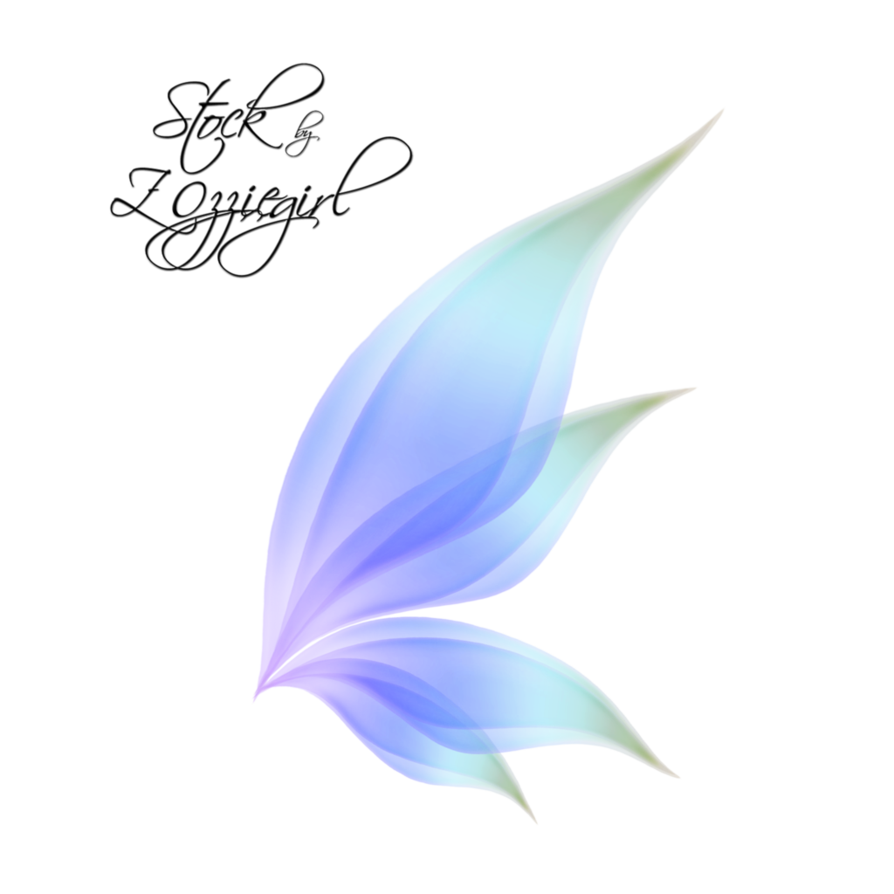 Fairy wing png. By zozziegirl on deviantart