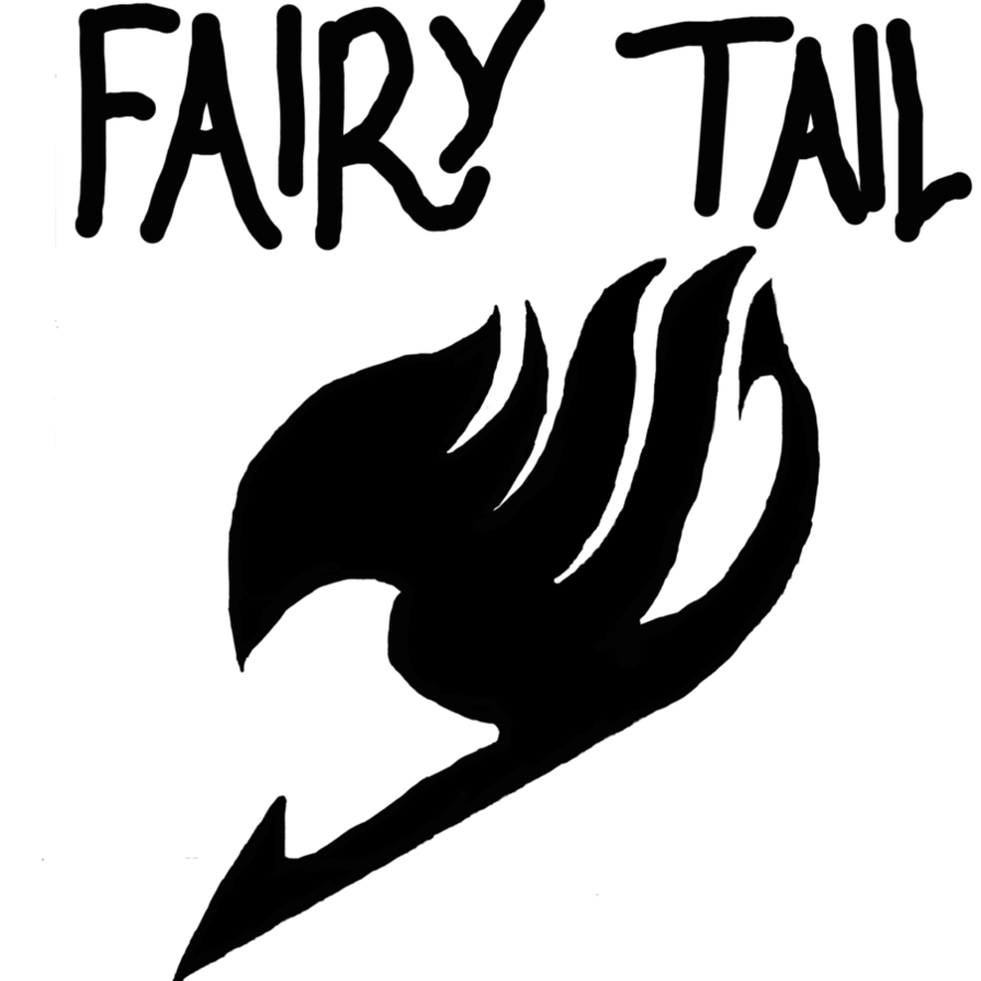 Fairytail drawing logo. Fairy tail attempt by
