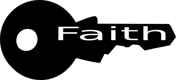 key clipart faith
