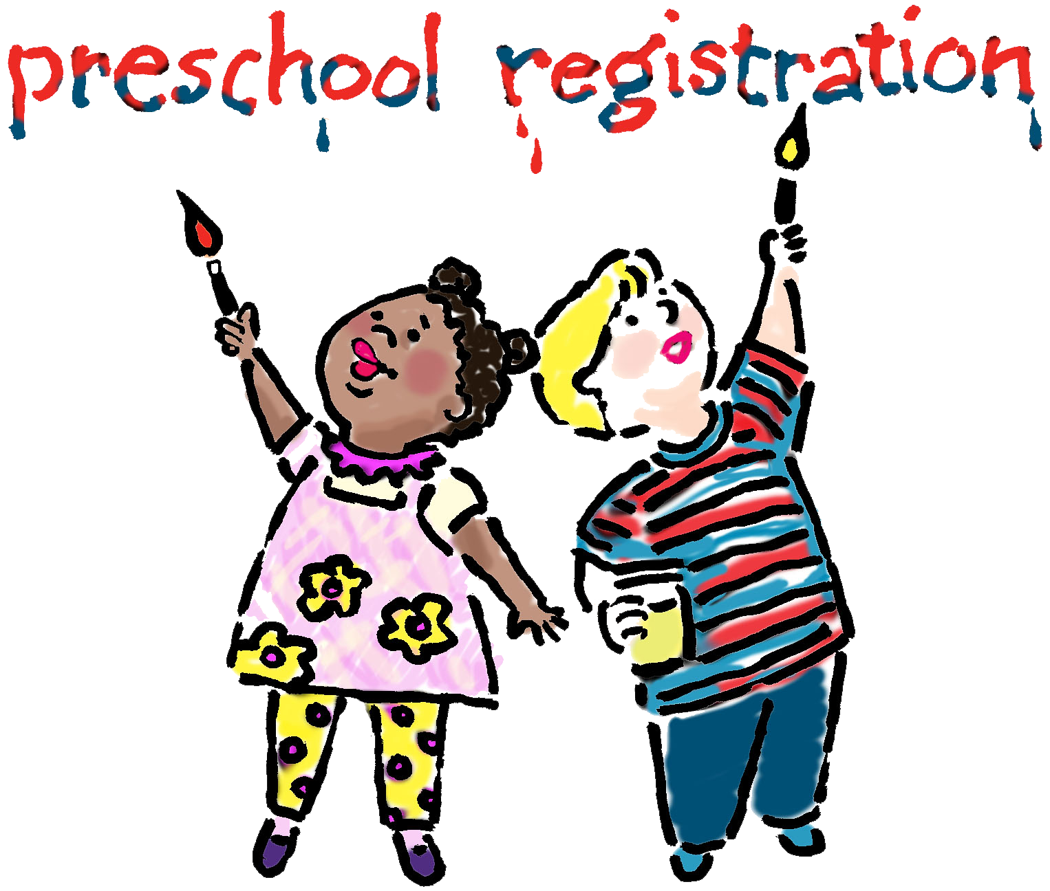 Preschool clipart. Registration