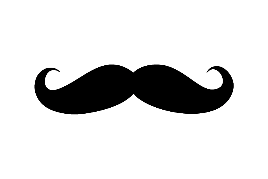 Fake mustache png. Render by chopperextra on