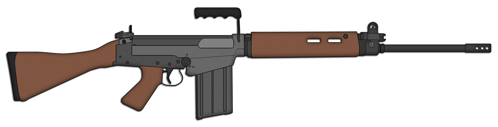 Fal rifle png. Fn assault by skorpion