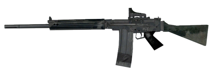 Fal rifle png. Image red dot sight
