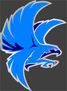 Falcon clipart blue falcon. Clip art at clker
