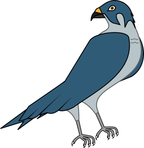Falcon clipart blue falcon. Signs you re
