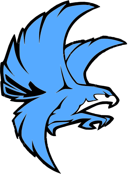 Falcon clipart blue falcon. Millenium at getdrawings com