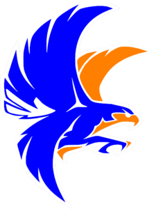 Falcon clipart blue falcon. Orange clip art at