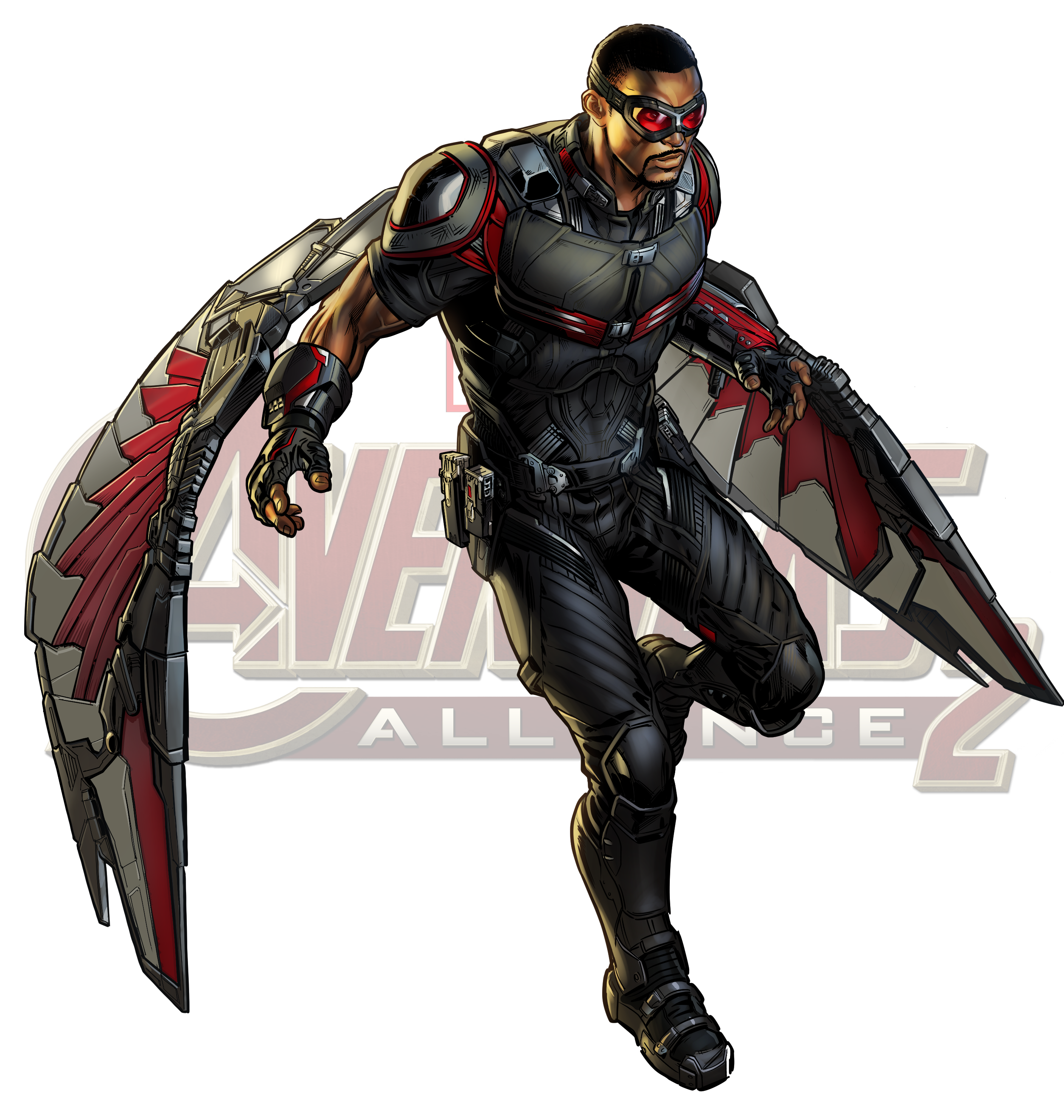 Falcon marvel png. Captain america cinematic universe