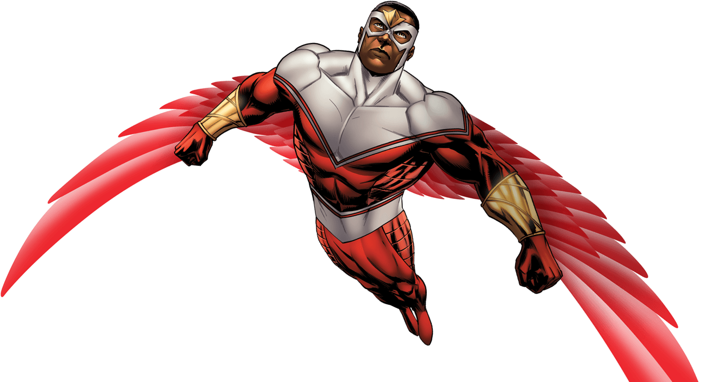 Falcon marvel png. Image aa promo render