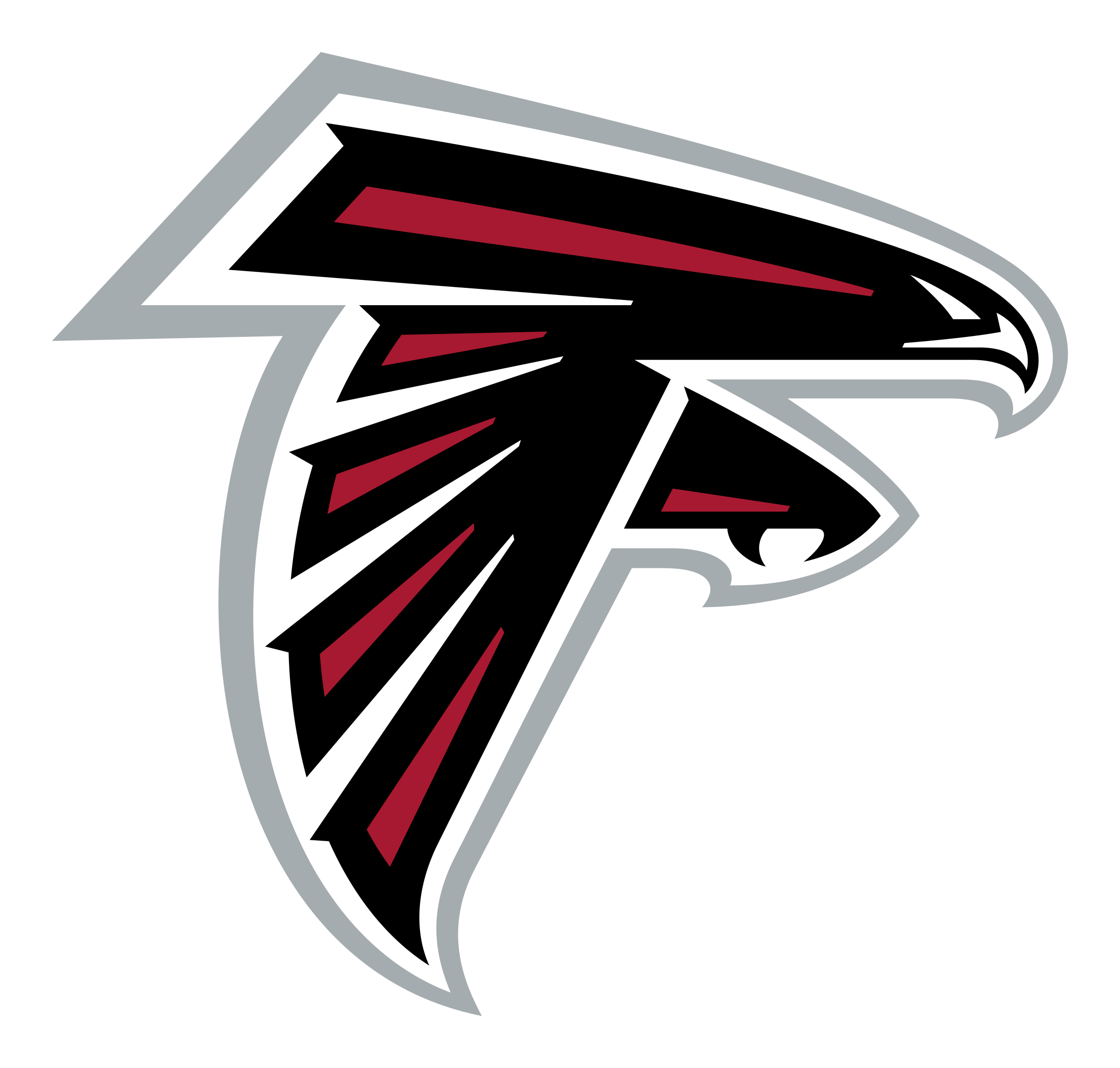 Falcons svg. Atlanta logo png transparent jpg download