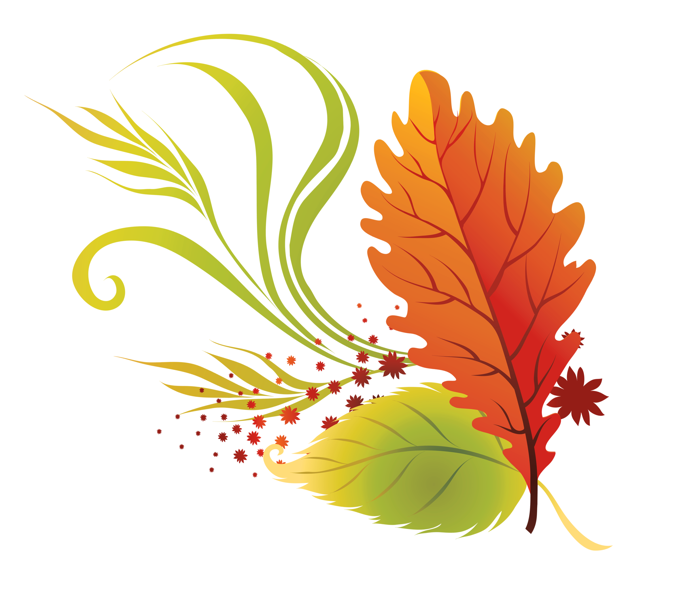 fall floral png