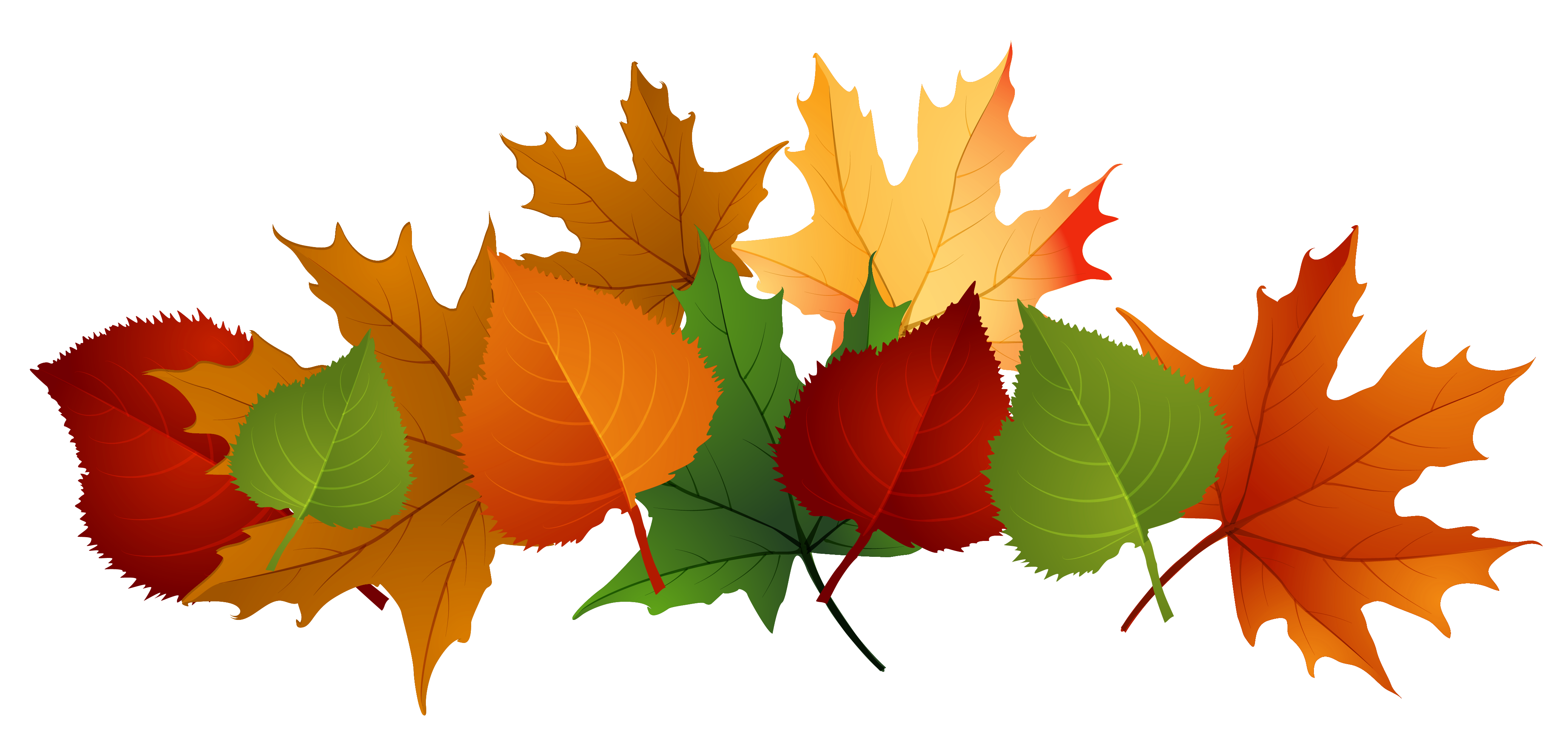 Fall leaves .png. Autumn pile clip art
