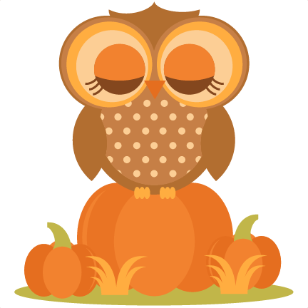 Fall owl png. In pumpkins svg cutting