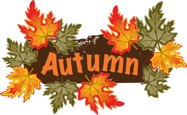 Autumn clipart autumn word. Collection of images