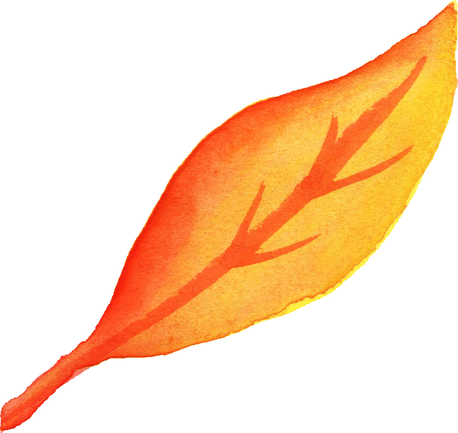 watercolor leaf png