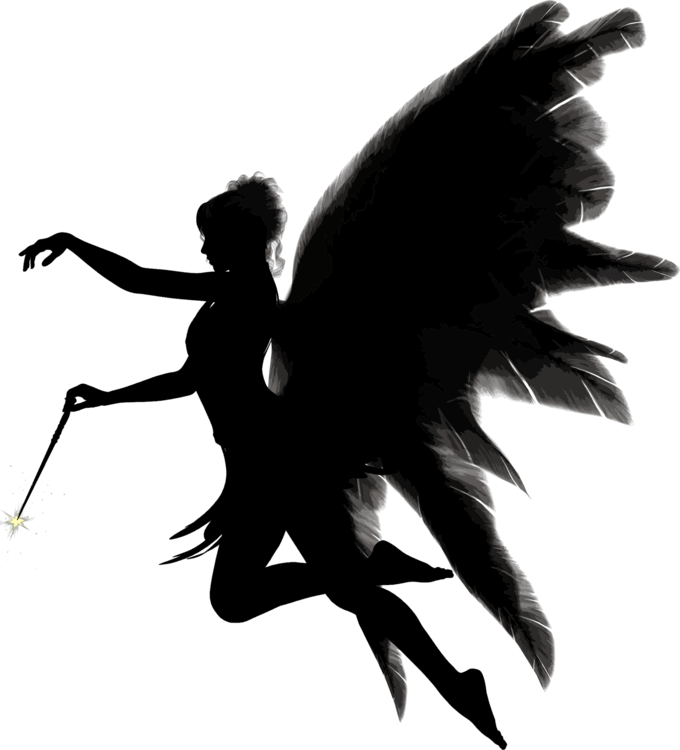 Falling angel feathers png. Fallen silhouette download free