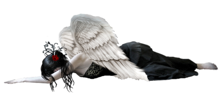 Fallen angel png. Free clipart picture gallery