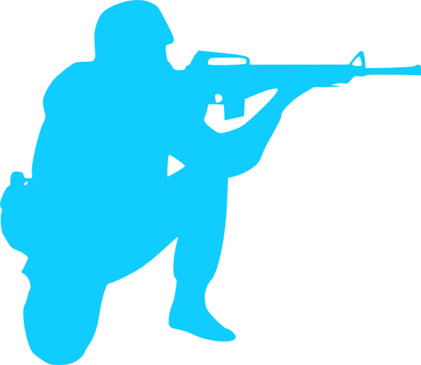 Fallen soldier png. Silhouette clip art at