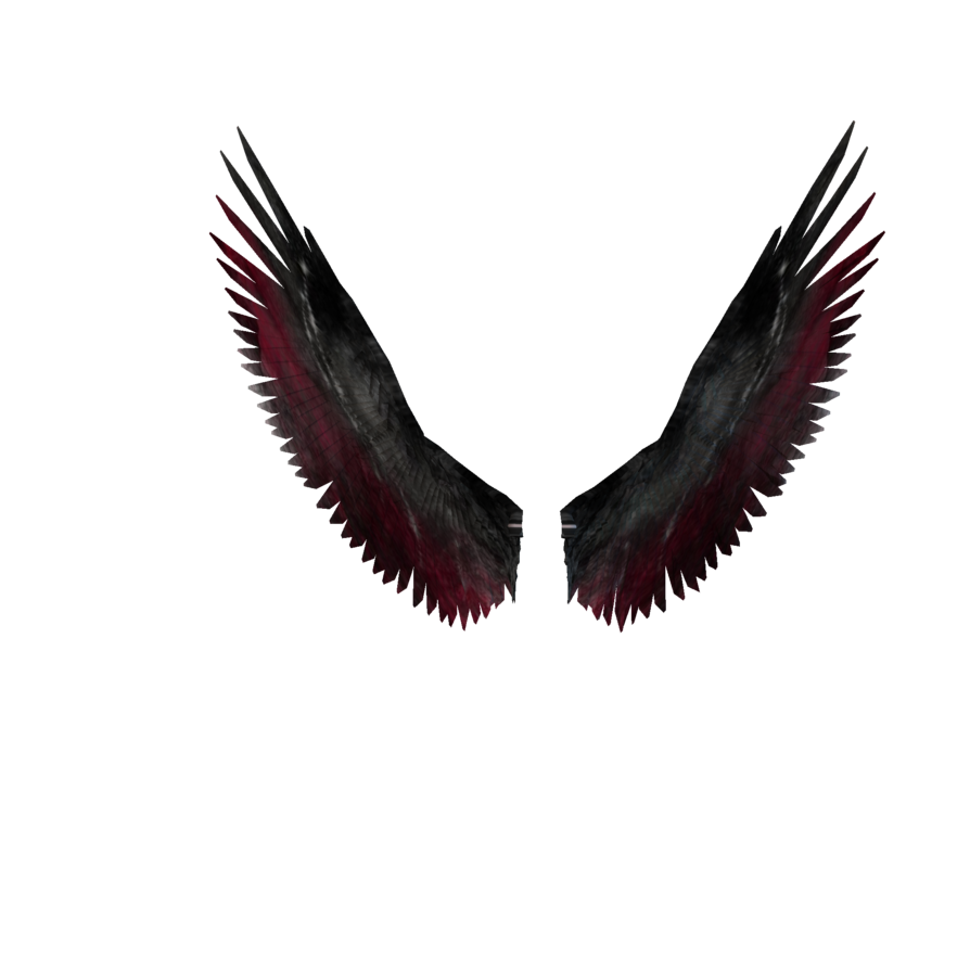 Falling angel feathers png. Dark fallen angels wings