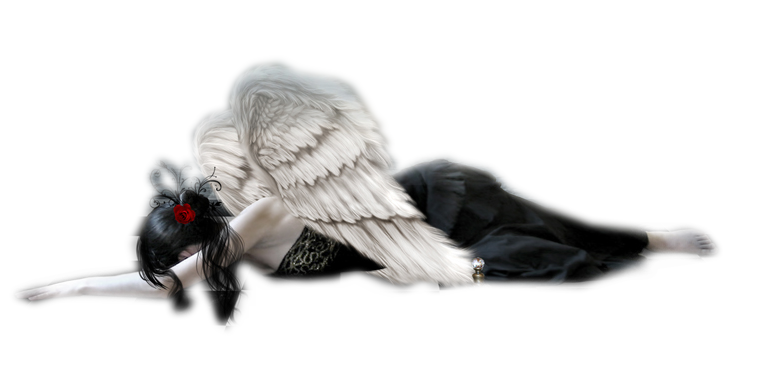 falling angel png