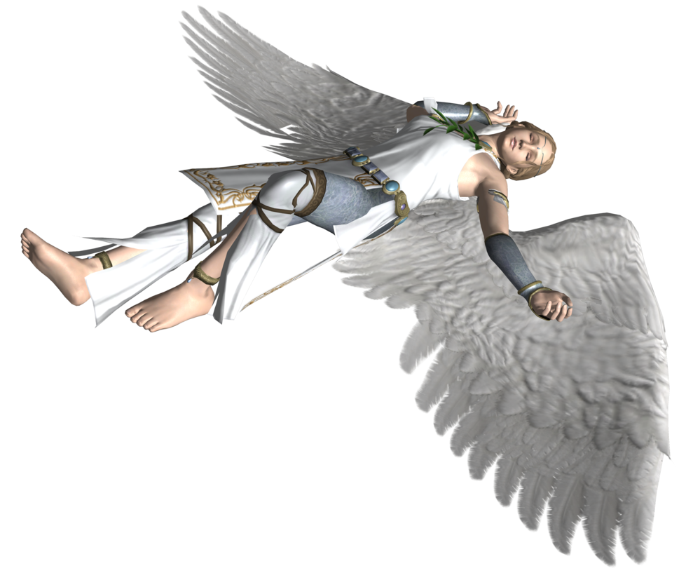 Falling angel png. Fallen no background by