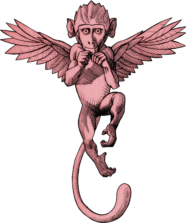 Falling angel png. Of apes and angels