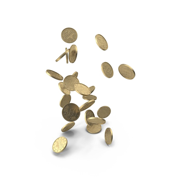 Falling coins png. Transparent picture mart