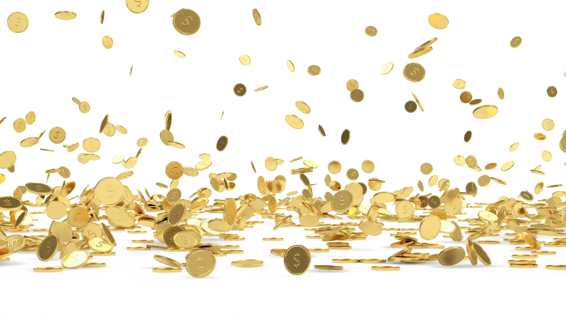 Falling coins png. Transparent hd photo mart
