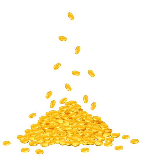 Falling coins png. Money free images toppng