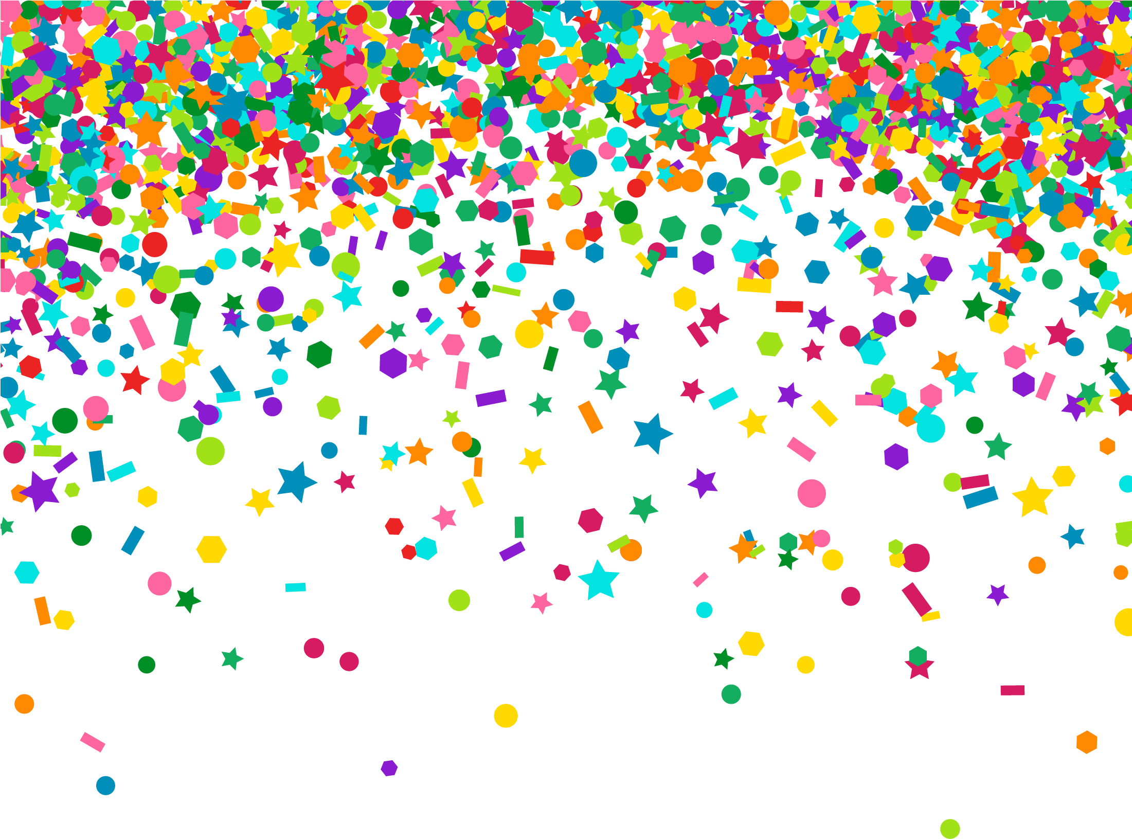 Falling confetti png. Download hd background dot
