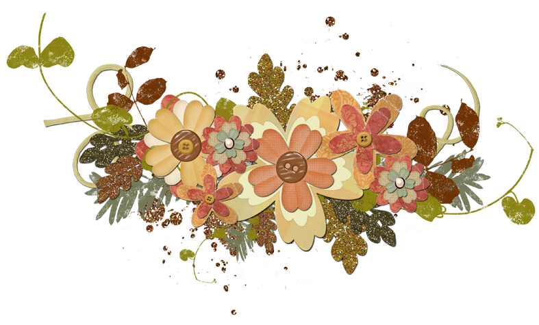 autumn flowers png