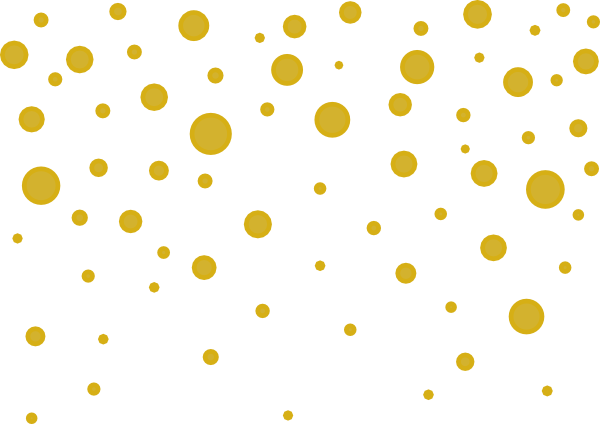 Gold glitter falling png. Dots clip art at