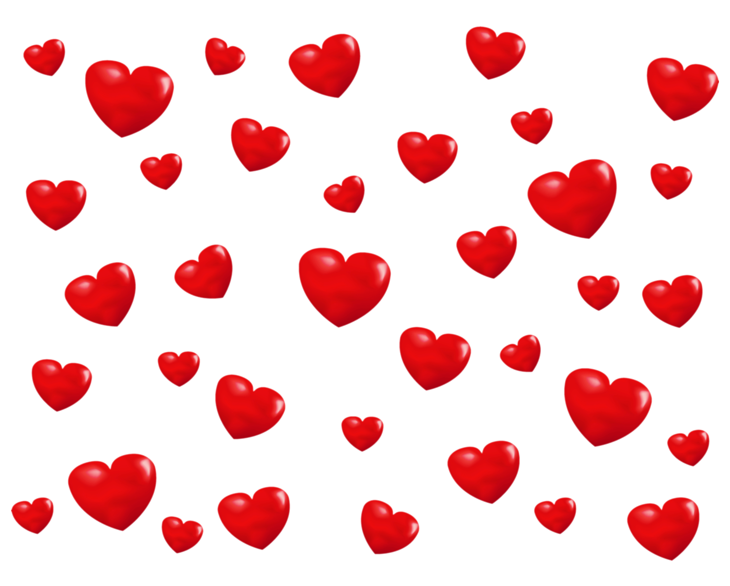Falling hearts png. Little overlay photos