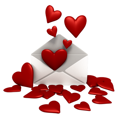 Falling hearts png. Happy valentine s transparent