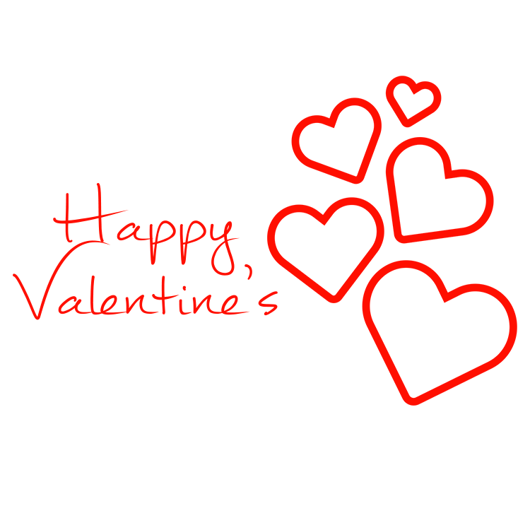 Happy valentine s hearts. Valentines png picture royalty free library