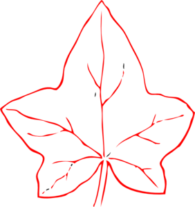 Fall leaf outline png. Autumn clip art at