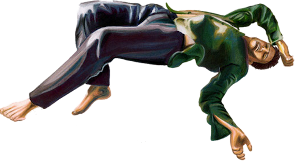 Falling man png. Psd official psds share