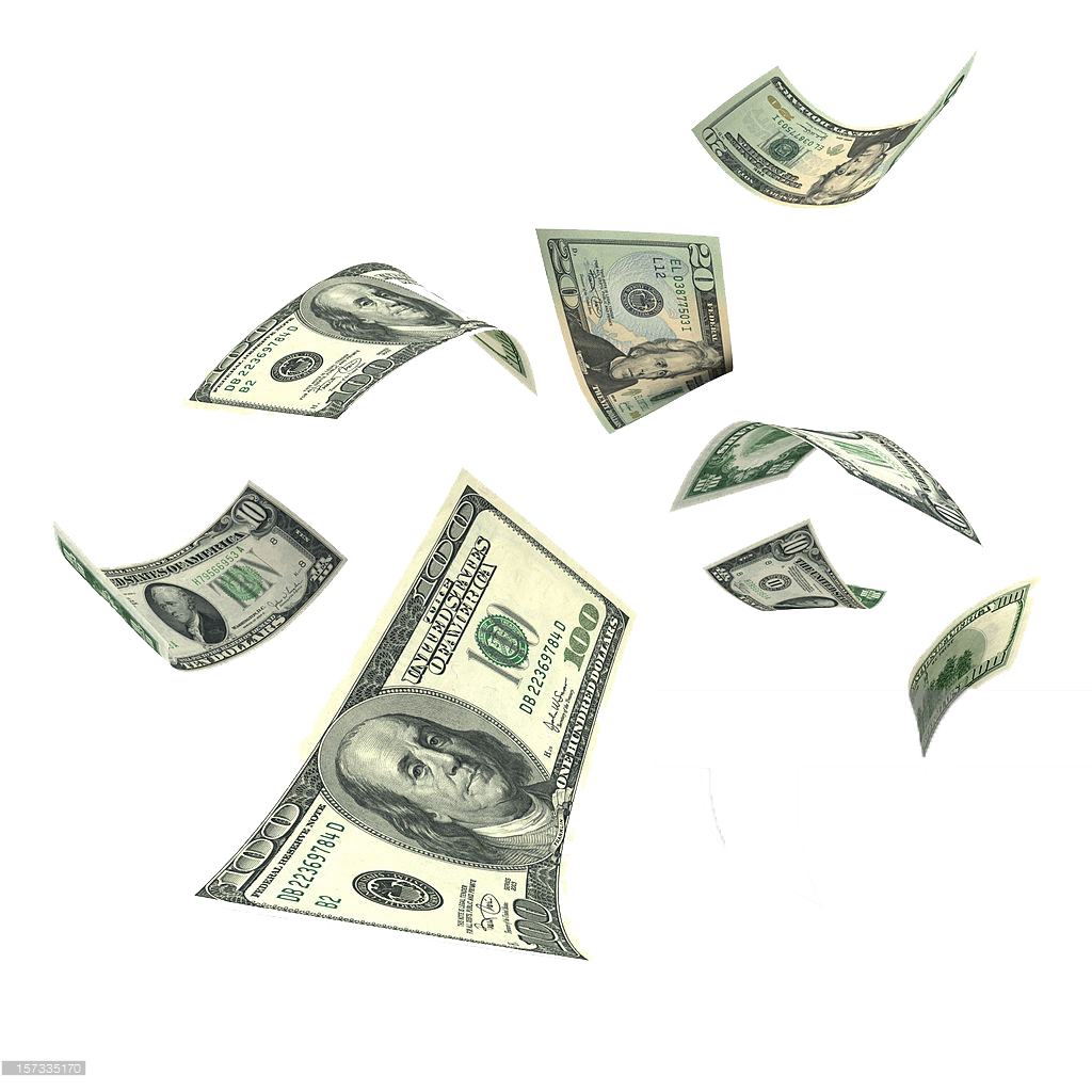 Falling money png hd. Background clipart names