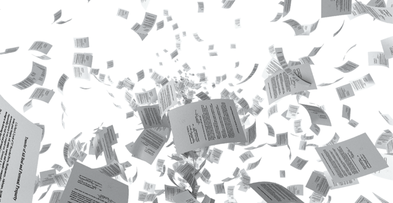 Falling paper png. The openlink structured data
