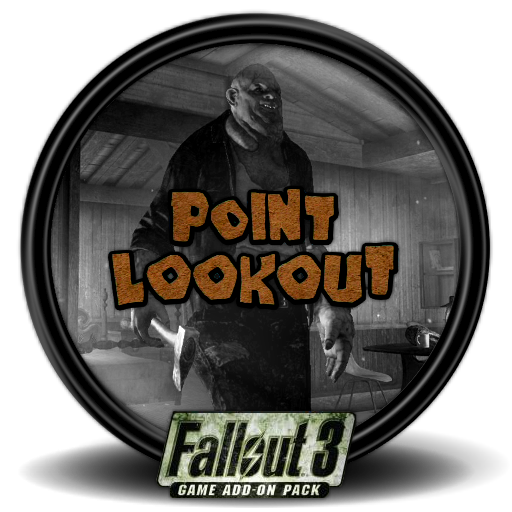 Fallout 3 icon png. Point lookout mega games