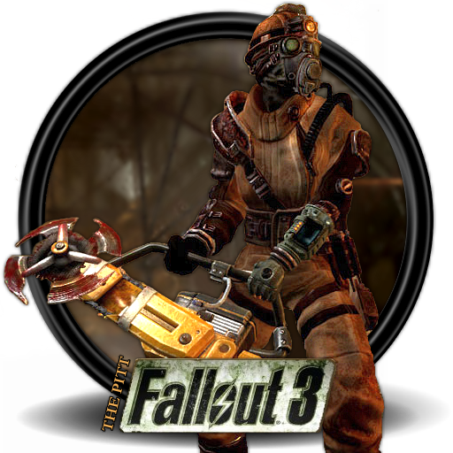 Fallout 3 icon png. The pitt mega games