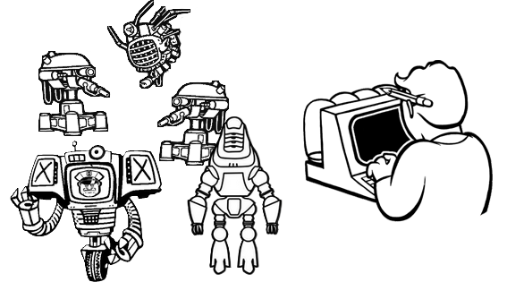 Fallout 3 icon png. Image robot and computer