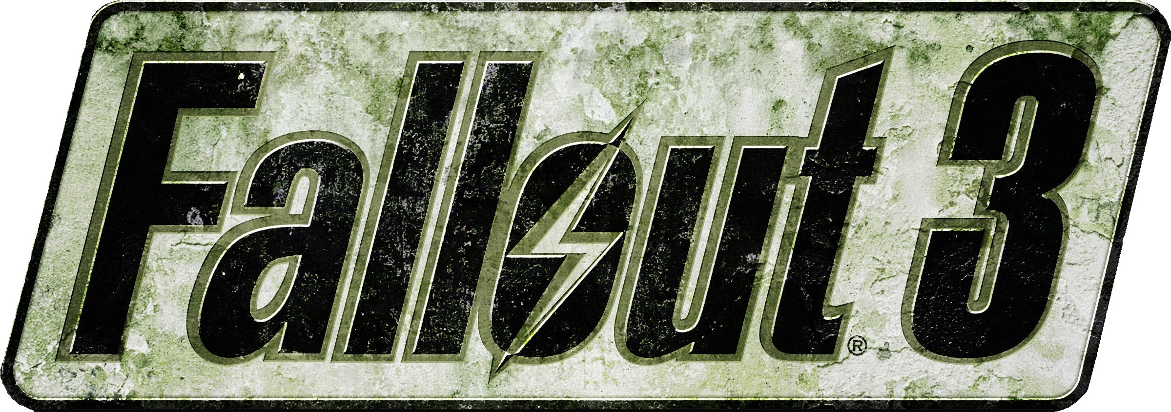 Fallout 3 logo png. Games images free download