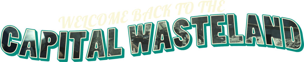 Fallout 3 logo png. Capital wasteland official webpage