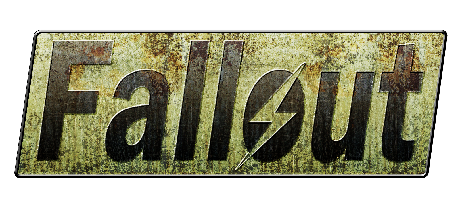 Fallout 3 logo png. Image crossover wiki fandom