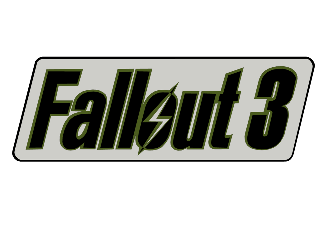 Fallout 3 logo png. Render by thejackmoriarty on